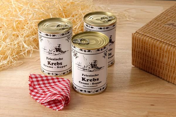 Friesische Krebs Creme-Suppe
