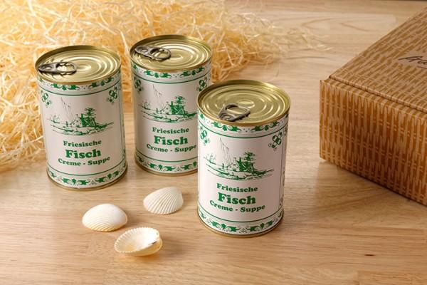 Friesische Fisch-Creme Suppe